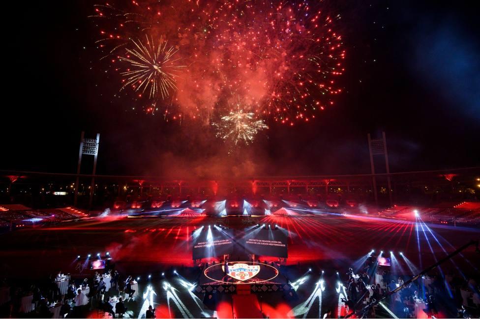 Presentación del nuevo Estadio de los Juegos Mediterráneos