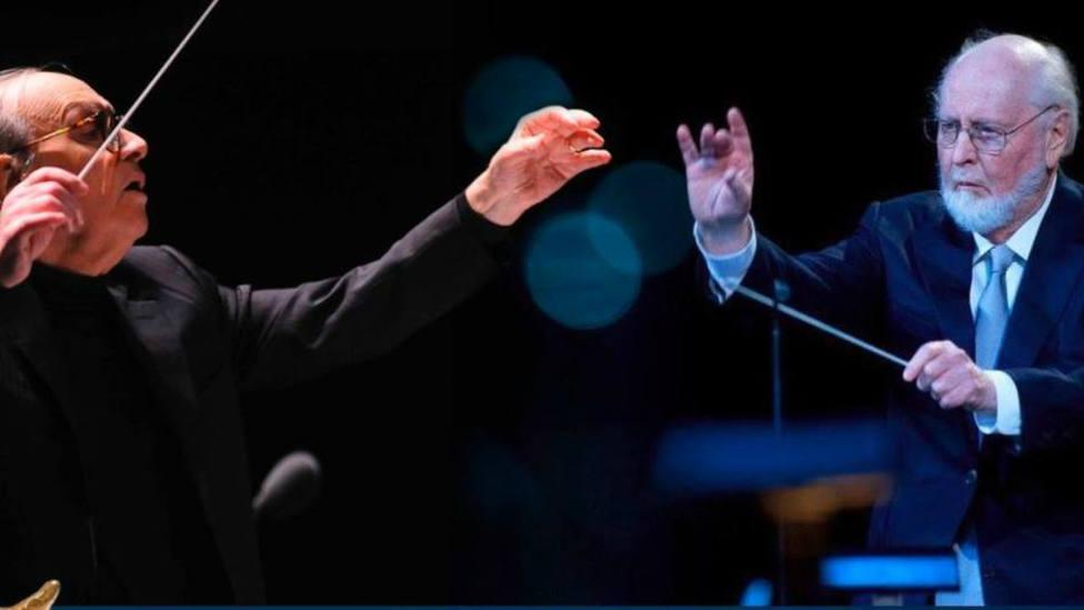 John Williams recuerda a Ennio Morricone durante su discurso: Su espíritu y su música nos acompañará siempre