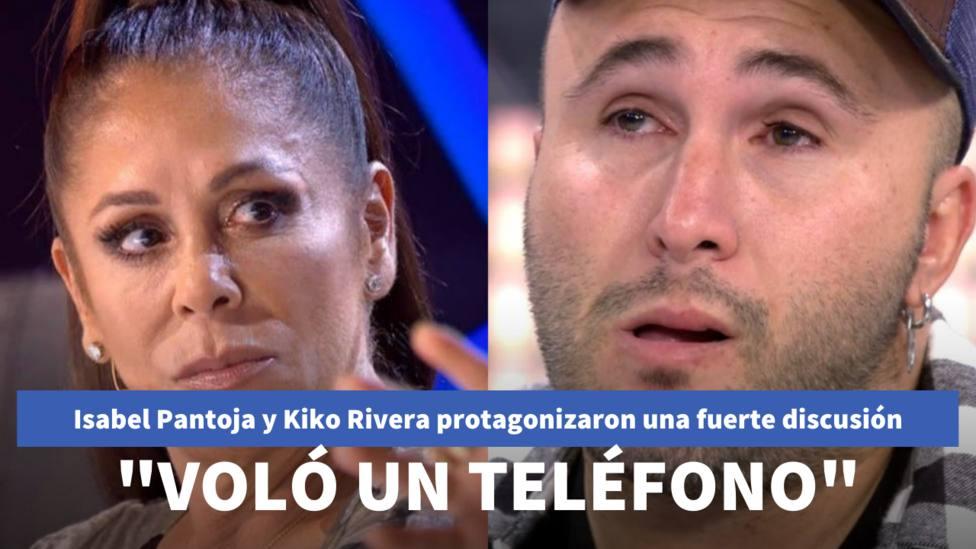 Isabel Pantoja y Kiko Rivera (Telecinco)