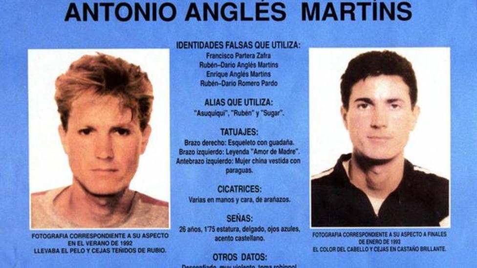 Fiha de Interpol de Antonio Anglés