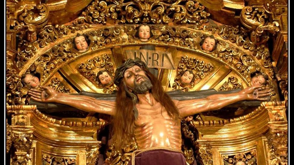 Foto del Santísimo Cristo de Candás (Panorámica)