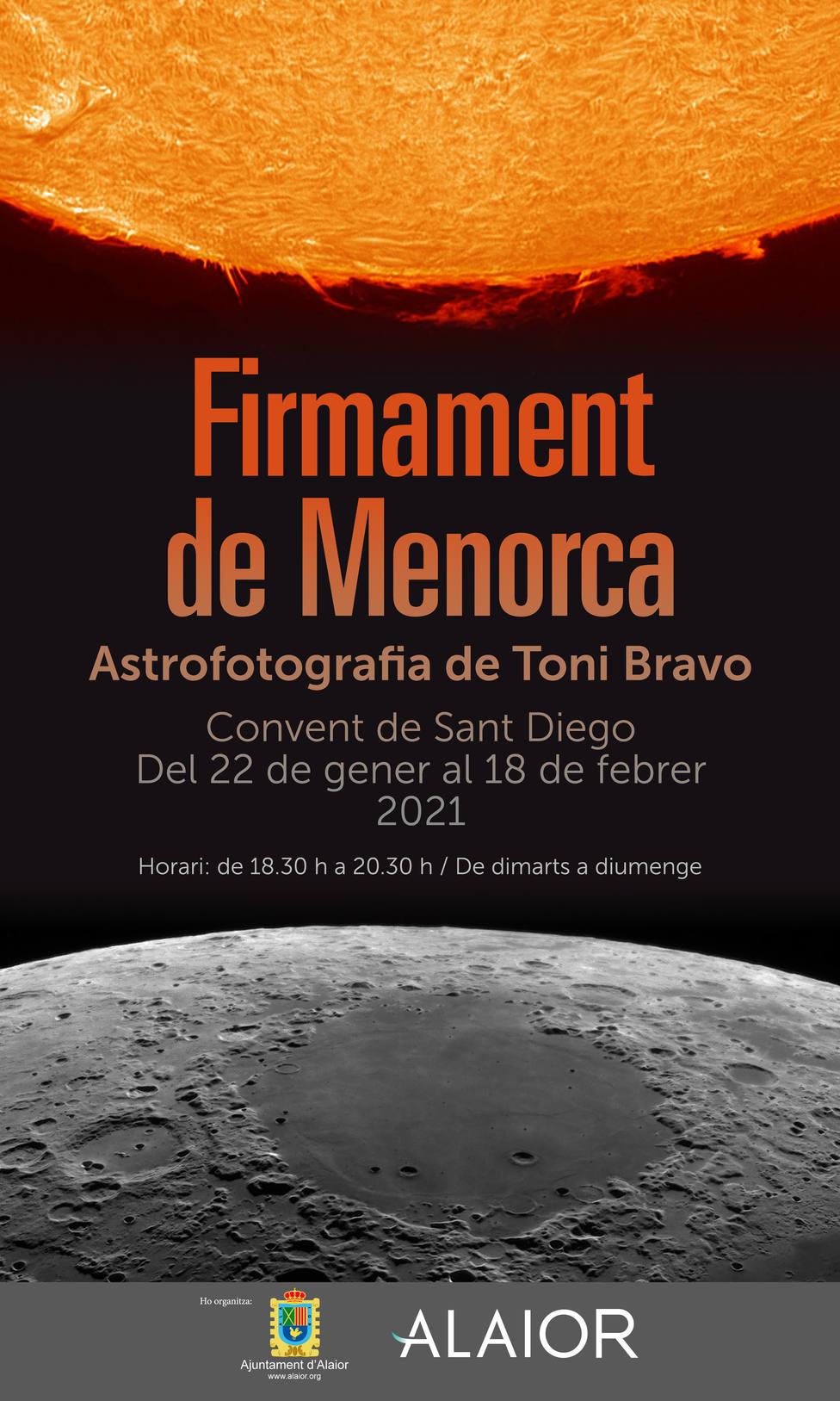 Alaior acoge la exposición de astrofotografíaFirmamento de Menorca