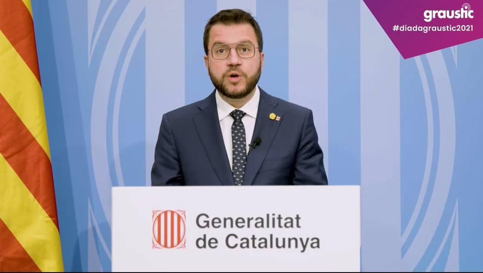El vicepresidente en funciones del Govern, Pere AragonÃ?s.