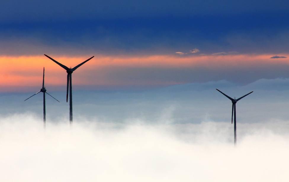 Energías renovables. Molinos