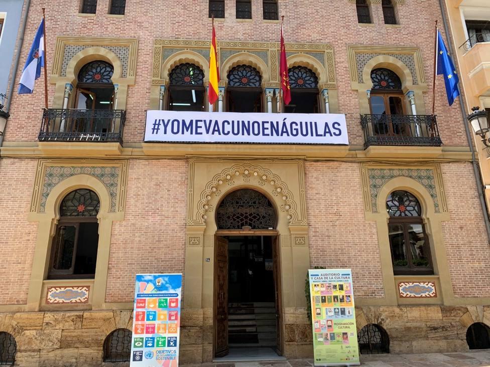 Águilas dice NO a vacunarse en Lorca