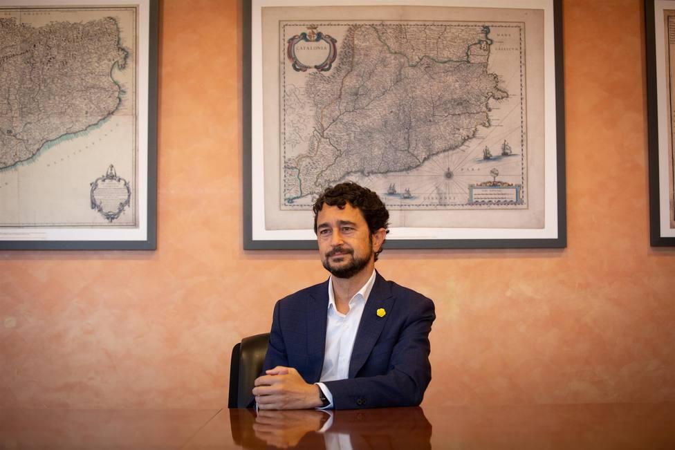 El conseller de Territorio y Sostenibilidad de la Generalitat, Damià Calvet - David Zorrakino - Europa Press -
