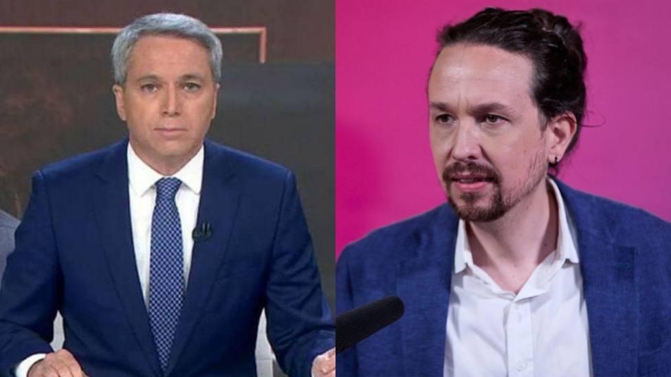 Vicente Vallés sorprende a Iglesias con un vídeo que resume su caída en política: No ha podido