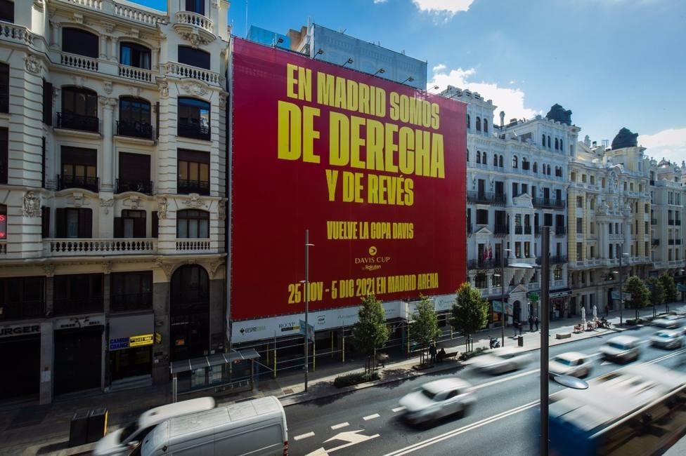 Tenis.- La Copa Davis se promociona proclamando que Madrid es de derecha y de revés