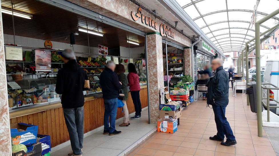 Foto de archivo de una zona del Mercado de Recimil - FOTO: Cedida