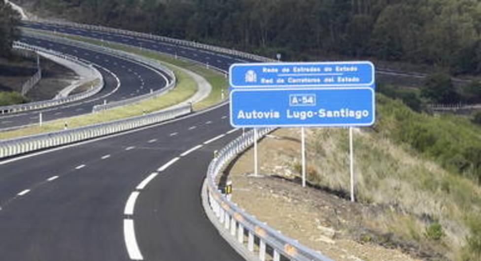 Autovía Lugo-Santiago