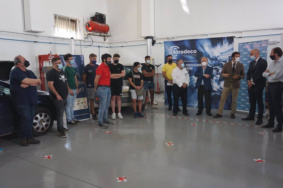 La Junta inicia un curso de FPE en el ámbito de la electrónica del vehículo con certificado de profesionalidad