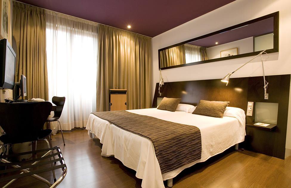 Habitación de un hotel. Agencias