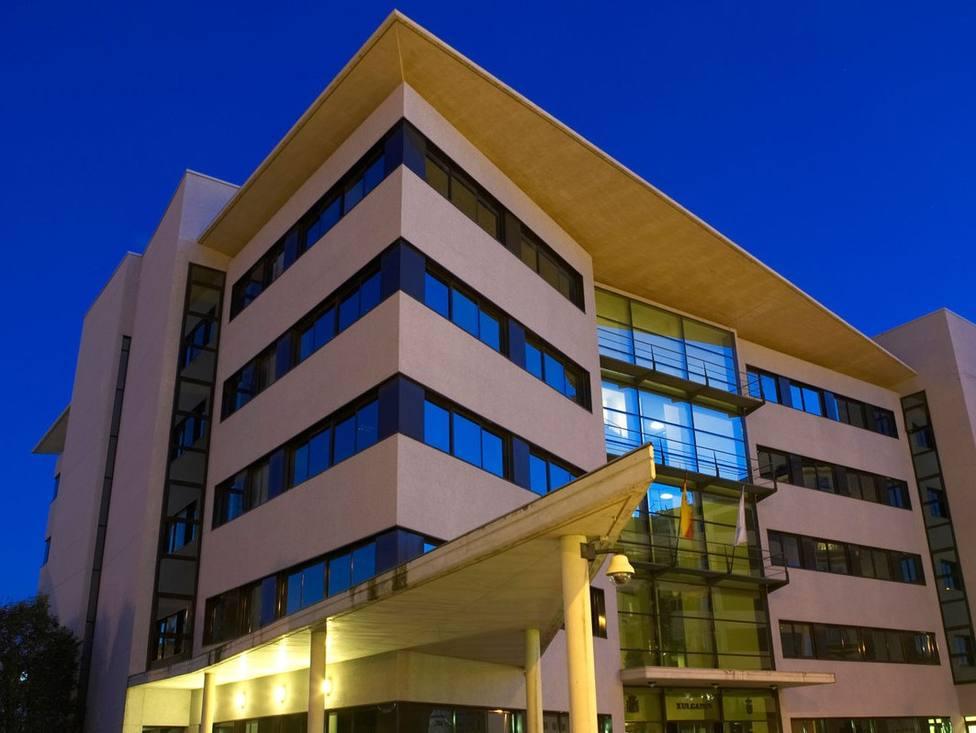 Edificio de los Juzgados en Lugo