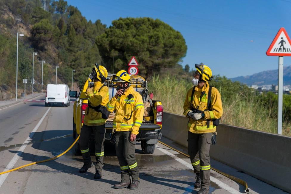 El fuego castiga zonas de Cataluña, Valencia, Galicia, La Rioja y La Mancha