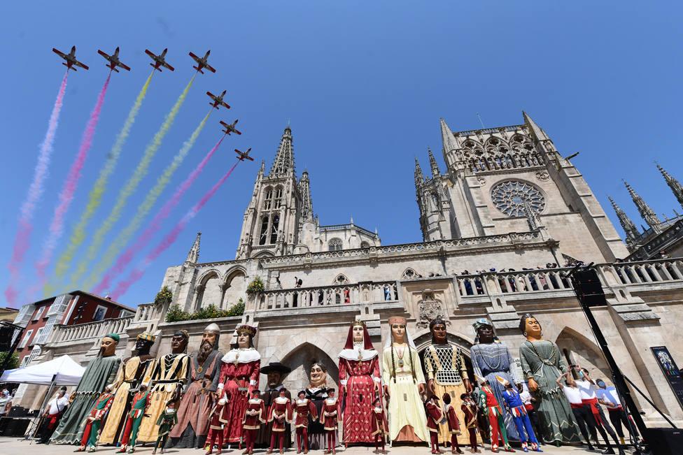 Jornada central de la conmemoración del VIII Centenario de la Catedral de Burgos
