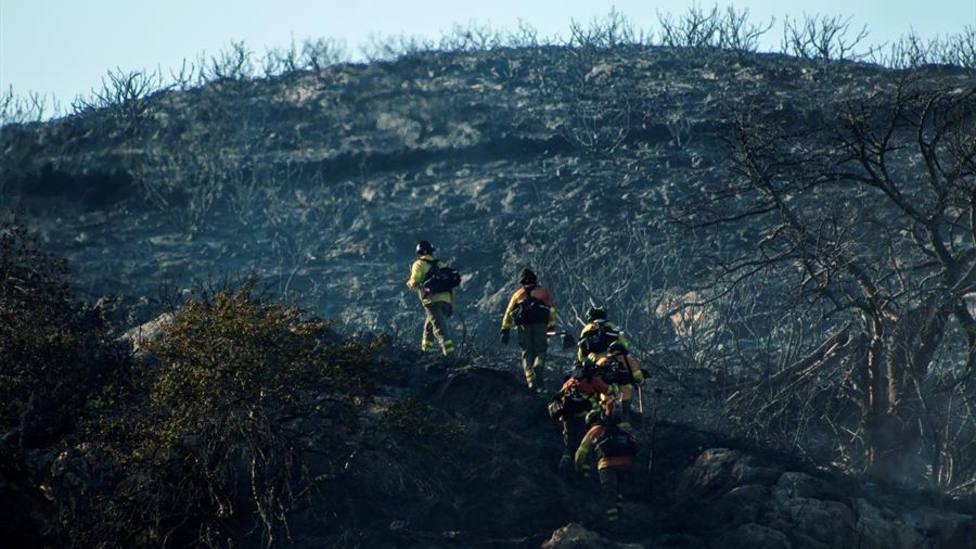 La Guardia Civil investiga a un joven de 27 años por el incendio forestal en Gualchos-Castell de Ferro