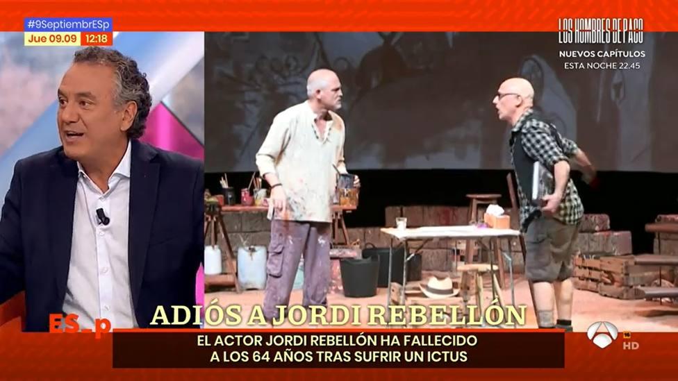 Roberto Brasero conmueve por su último encuentro con Jordi Rebellón (doctor Vilches): La semana pasada