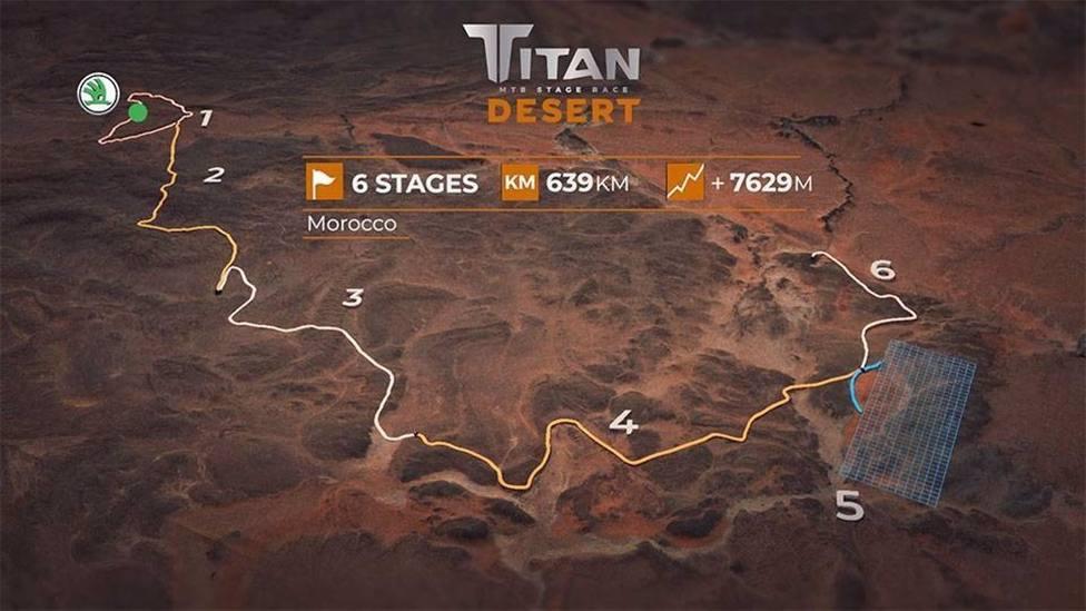 Ciclismo.- La Titan Desert regresa a Marruecos del 10 al 15 de octubre