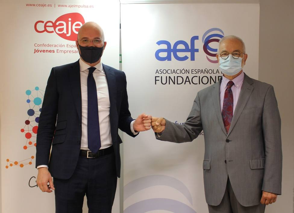AEF y CEAJE se unen en favor de la colaboración entre empresas y fundaciones