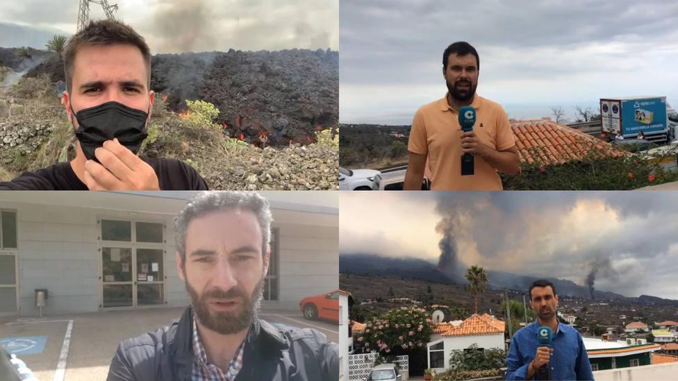 COPE te cuenta en directo desde La Palma cómo está siendo la erupción del volcán en la isla