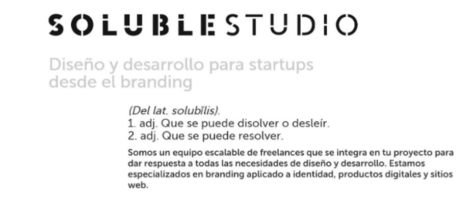 Soluble Studio