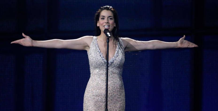 Ruth Lorenzo representa a España con la canción Dancing in the rain.