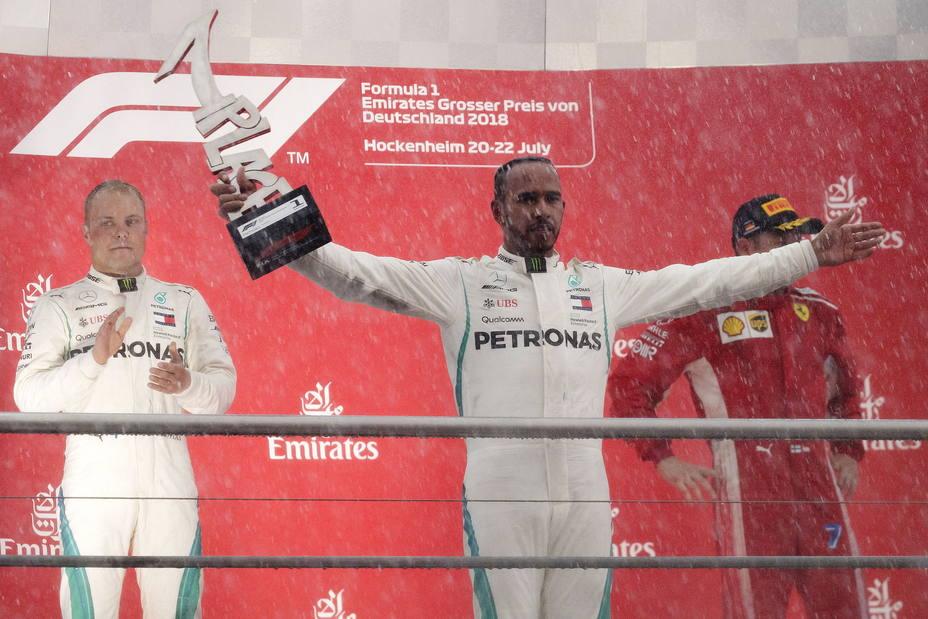 Podio GP Alemania 2018