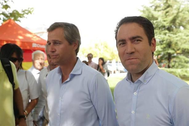 El secretario general del PP Teodoro García