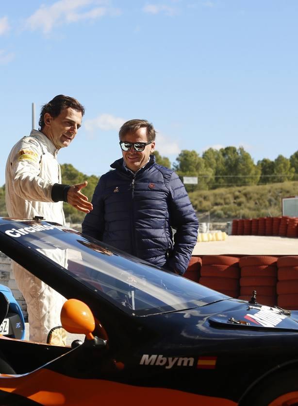 Terramovil Drive Experience con Pedro Martínez de la Rosa y ElPozoMurcia FS