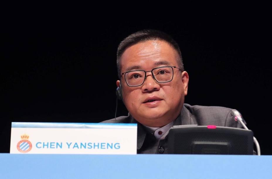 Fútbol.- Chen Yansheng: No se me pasa por la cabeza vender mis acciones ni al Espanyol