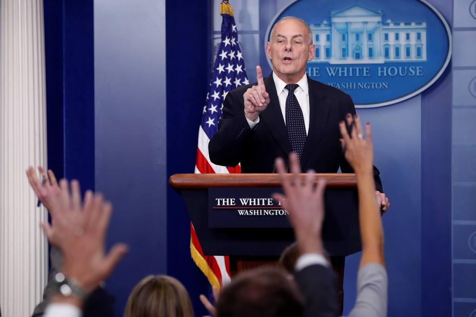 John Kelly podría renunciar como jefe de gabinete de la Casa Blanca