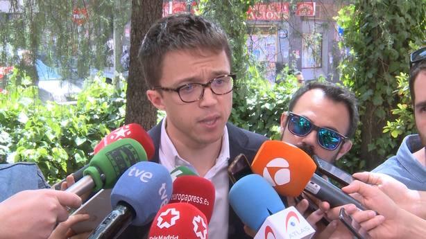 Errejón cree que Cs tiene un problema cuando elige como socios al partido más corrupto y a otro ultra