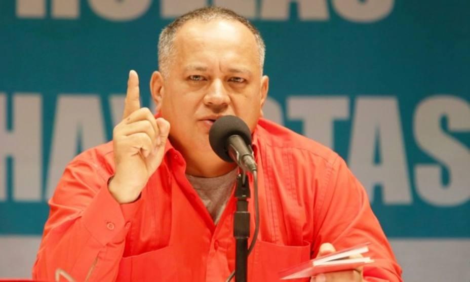 Diosdado Cabello advierte con una guerra irregular si Venezuela es invadida