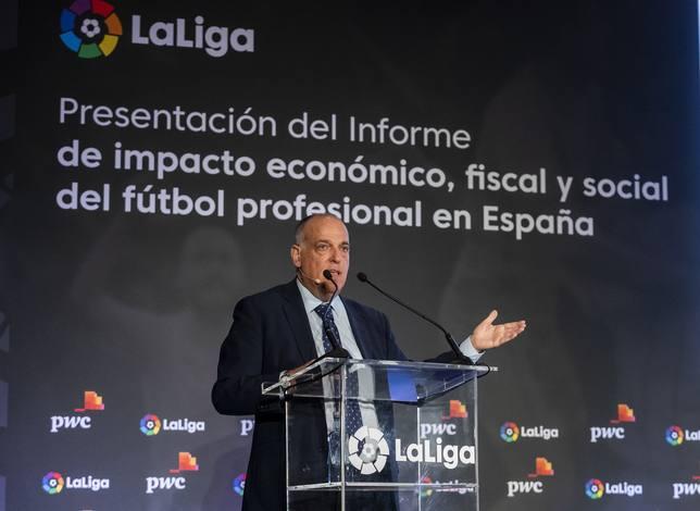 Javier Tebas presentará el ISDE Sports Convention en Madrid del próximo mayo