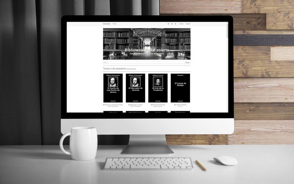Existe una biblioteca virtual gratuita creada por un menorquín de la que se benefician un millón de personas