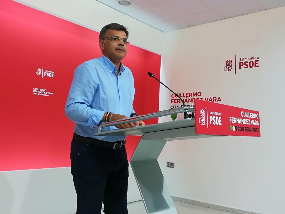 El PSOE en Extremadura sigue abierto al diálogo para las alcaldías con Cs, de quien depende la decisión