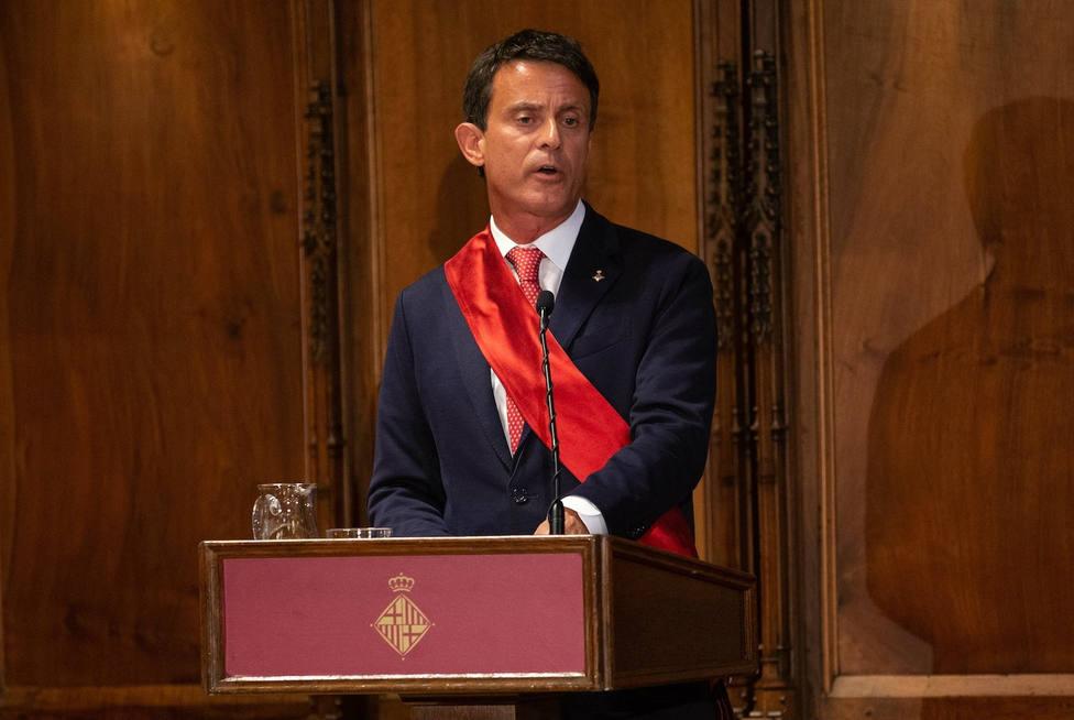 Manuel Valls le dice a Colau y Collboni que deben admitir que Barcelona es una ciudad insegura