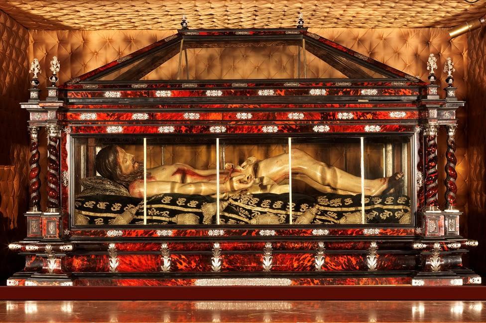 ¿Por qué se ha colocado El Santo Sepulcro de Logroño en una capilla lateral?