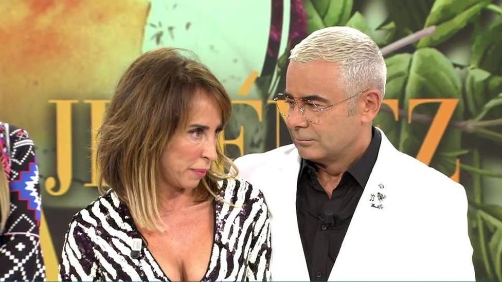 Jorge Javier Vázquez y María Patiño desvelan el motivo del enfado que les ha tenido distanciados este verano