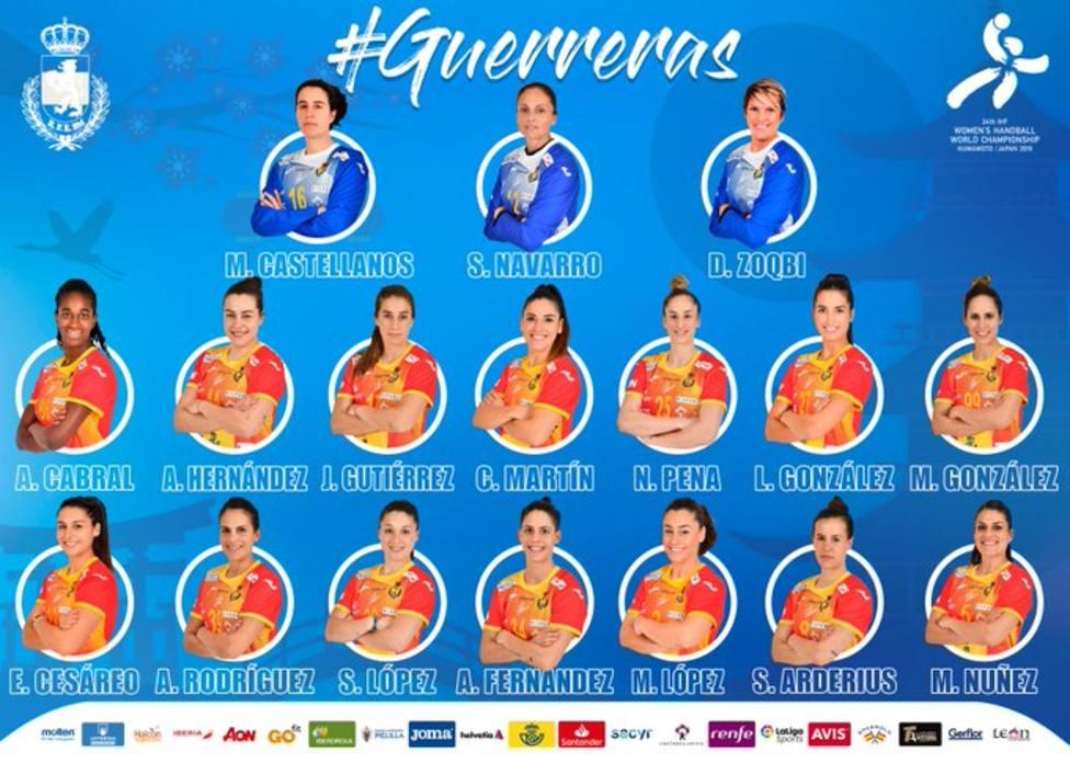 Dos malagueñas con España en el Mundial de balonmano femeni