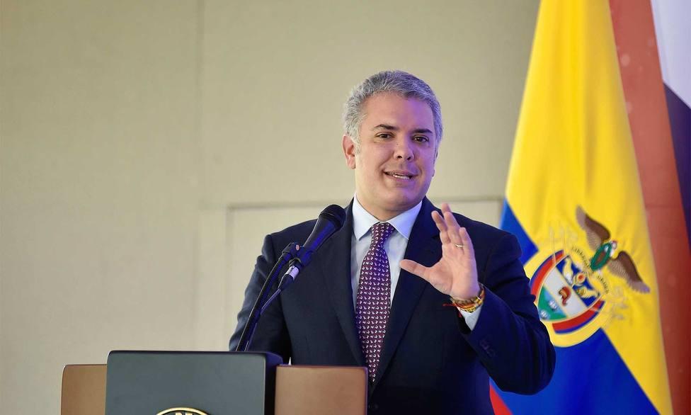 Duque atribuye al vandalismo puro la violencia registrada durante la huelga general en Colombia