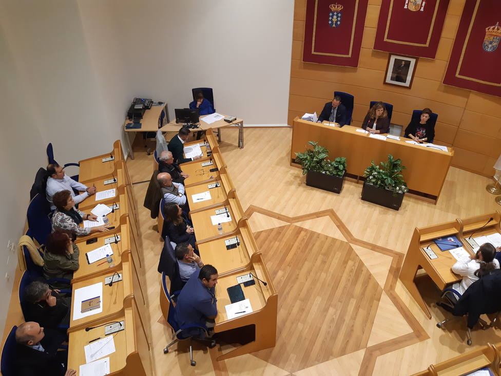 Pleno ordinario de fin de mes en Narón - FOTO: Concello de Narón