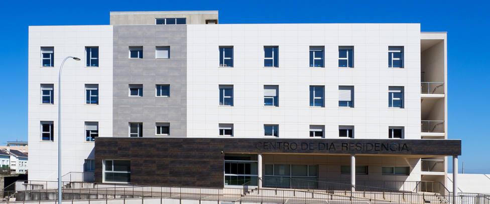 Centro de Día Residencia de San Cibrao, en el municipio de Cervo