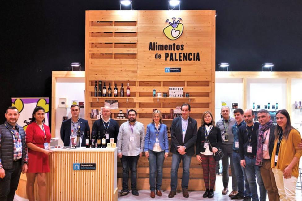 La marca Alimentos de Palencia de Diputacion despide Madrid Fusión