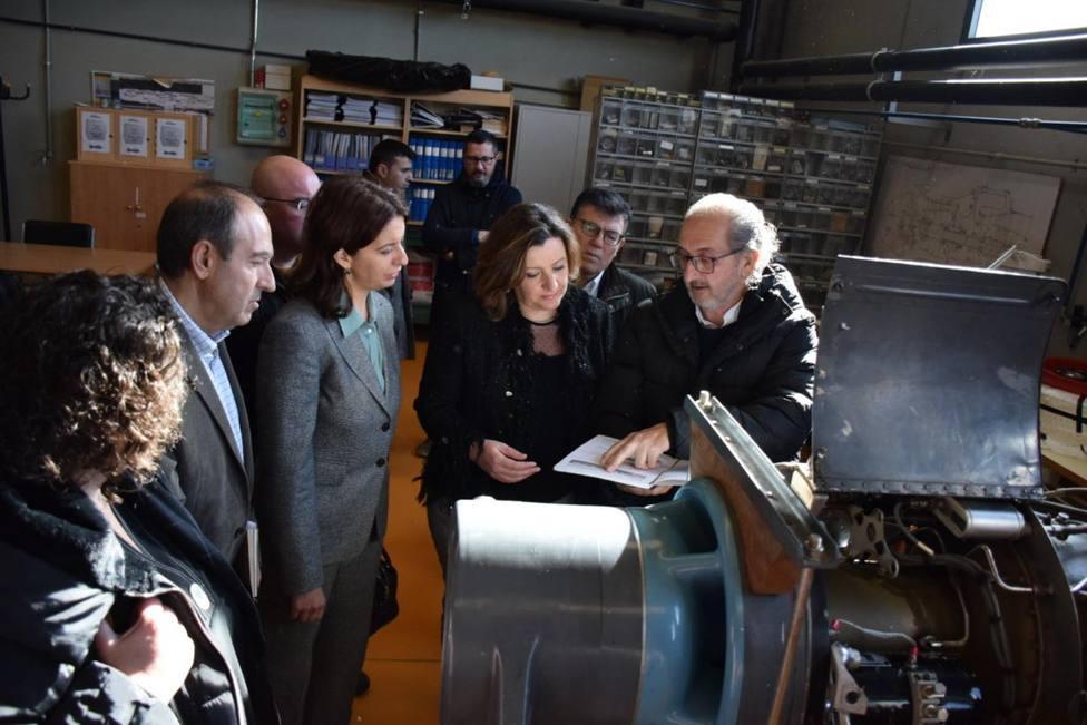 Patricia Franco Visita el Centro Integrado de FP Aguas Nuevas
