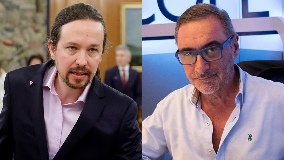 El comentado gesto de Iglesias y el aviso de Herrera a Coalición Canaria, entre lo más leído en COPE.es