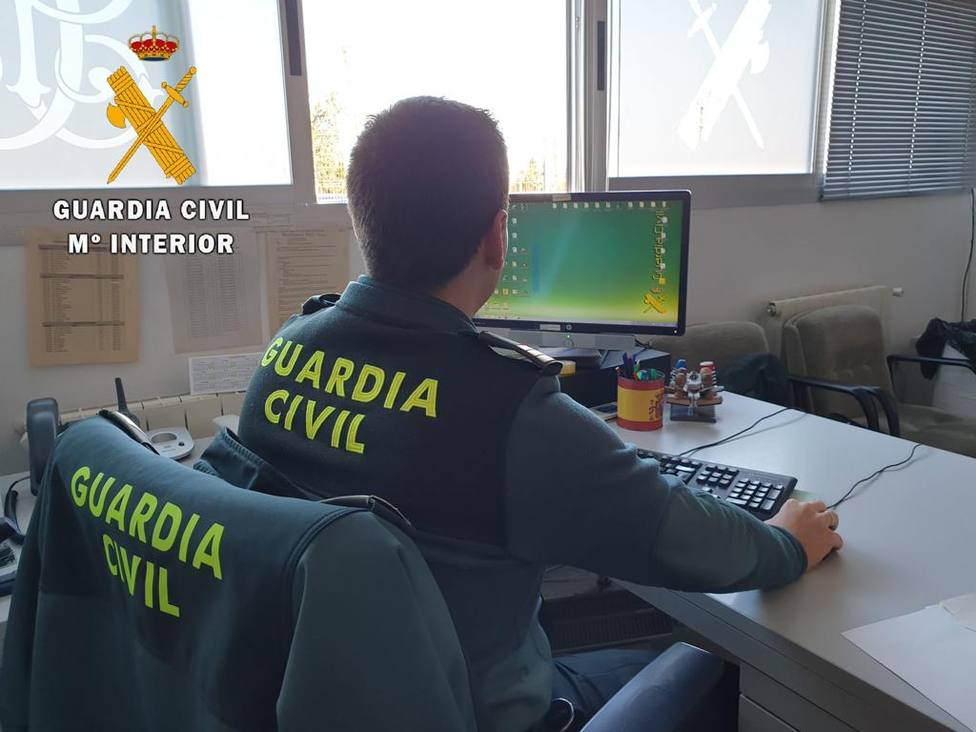 Foto cedida Comandancia Guardia Civil