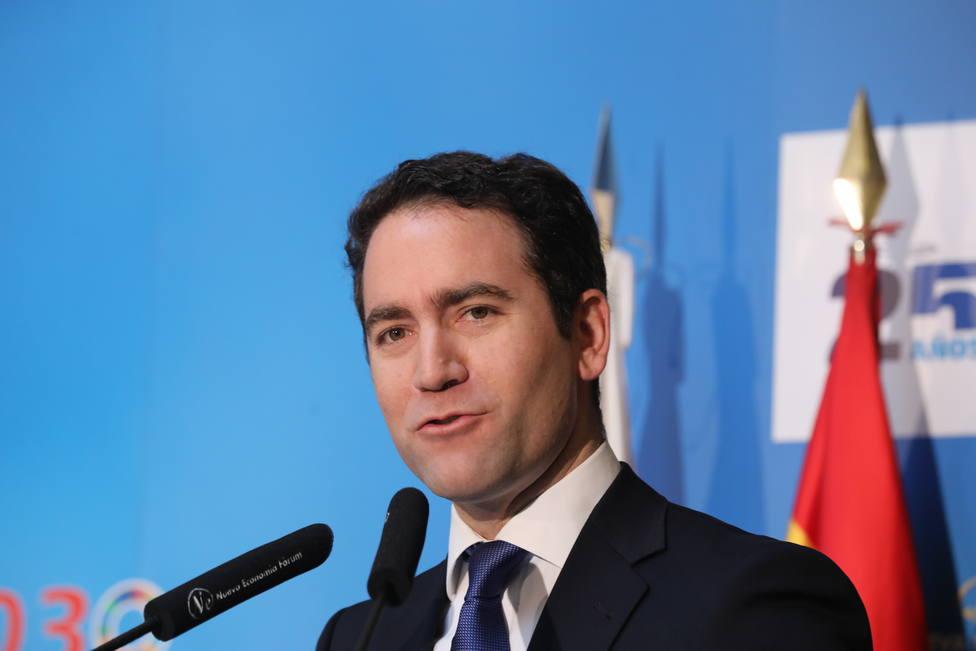 Teodoro García Egea, secretario general del PP