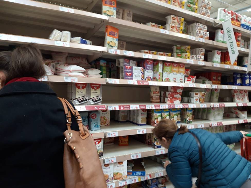 COPE se ha desplazado hasta un supermercado de Pío XII