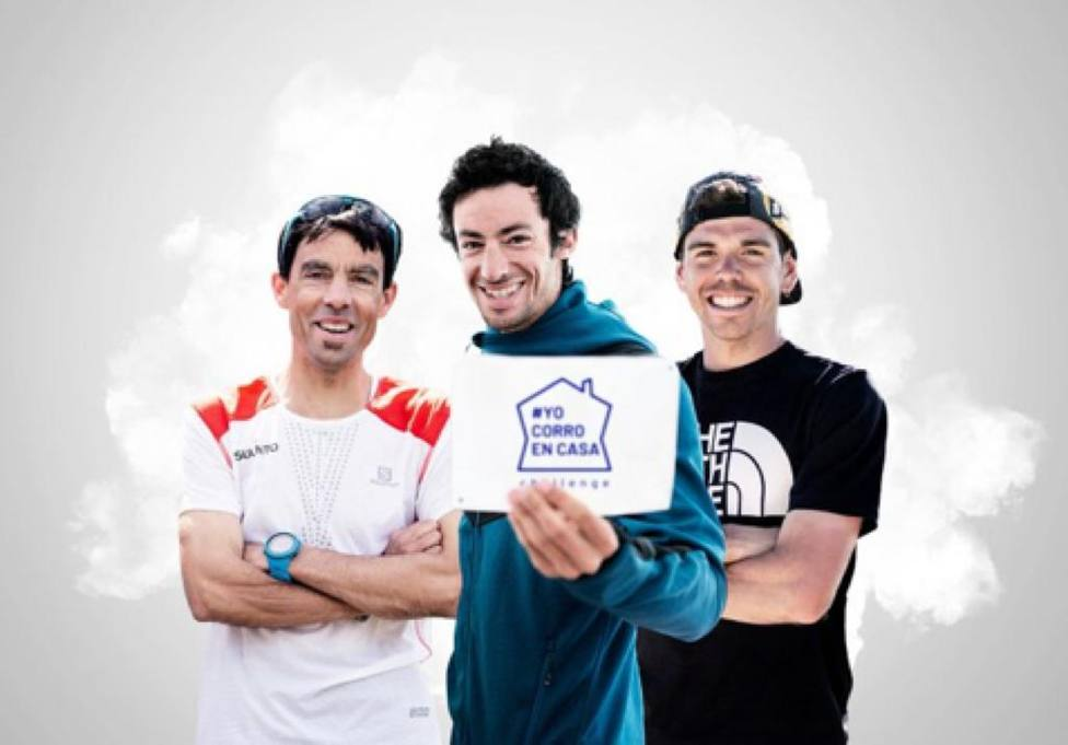 Tòfol Castanyer, Kilian Jornet y Pau Capell son los promotores de la iniciativa - FOTO: Jordi Saragossa